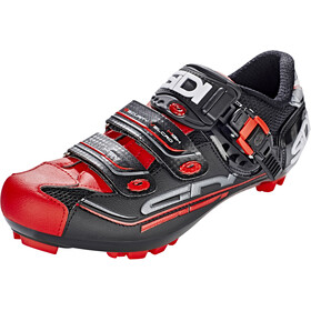 Sidi MTB Eagle 7-SR Shoes Herre black/red